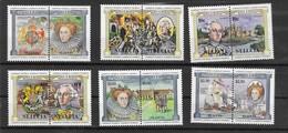 SANTA LUCIA  Nº  618 AL 628 - St.Lucia (1979-...)