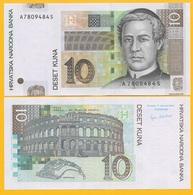 Croatia 10 Kuna P-38a 2001 UNC Banknote - Croatia
