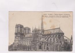 CPA DPT 75 PARIS, NOTRE DAME - Eglises