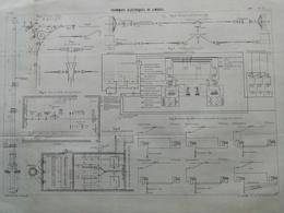 ANNALES DES PONTS Et CHAUSSEES (DEP 87) - Tramways électriques De Limoges - L. Courtier - 1900 (CLE77) - Machines