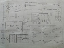 ANNALES DES PONTS Et CHAUSSEES (DEP 87) - Tramways électriques De Limoges - L. Courtier - 1900 (CLE77) - Máquinas