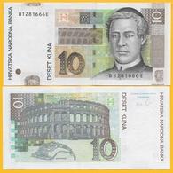 Croatia 10 Kuna P-38b 2012 UNC Banknote - Kroatië