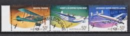 Australia 2008 Aviation Strip Of 3 CTO - 2000-09 Elizabeth II