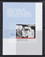 Australia 2011 ANZUS Treaty Imperforate MNH - Mint Stamps