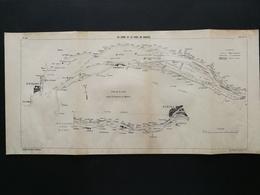ANNALES DES PONTS Et CHAUSSEES (Dep 44)- Plan De La Loire Et Du Port De Nantes Imp A.Gentil 1915 (CLE79) - Máquinas