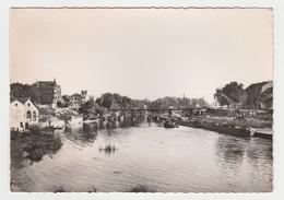 57 Sarreguemines N°3 Le Port Sur Le Canal Péniches Remorqueur - Sarreguemines