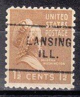 USA Precancel Vorausentwertung Preo, Locals Illinois, Lansing 703 - Vereinigte Staaten