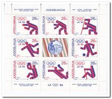 Yougoslavië 1984, Postfris MNH, Olympic Summer Games - Ongebruikt