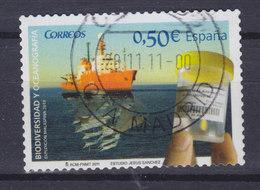 Spain 2011 Mi. 4578    0.50 € Internationales Jahr Der Biodiversitaät Forschungsschiff 'Hespéride' Meerwasserprobe - 1931-Heute: 2. Rep. - ... Juan Carlos I