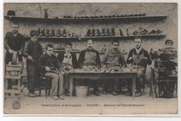 CPA 21 : Institution D'Aveugles - DIJON - Atelier De Cordonnerie - Ed. Bauer Marchet - 1910 - Santé - Inconnu - Dijon