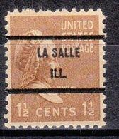 USA Precancel Vorausentwertung Preo, Bureau Illinois, La Salle 805-71 - Vereinigte Staaten