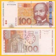 Croatia 100 Kuna P-41b 2012 UNC Banknote - Croatie