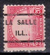 USA Precancel Vorausentwertung Preo, Locals Illinois, La Salle 567-232 - Vereinigte Staaten