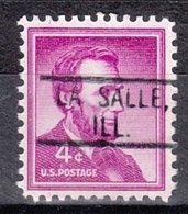 USA Precancel Vorausentwertung Preo, Locals Illinois, La Salle 802 - Vereinigte Staaten
