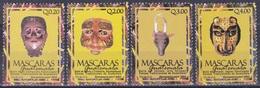 Guatemala 2003 Brauchtum Traditionen Folklore Traditions Tanzmasken Masken Masks Tanz Tanzen Dancing, Mi. 1387-0 ** - Guatemala