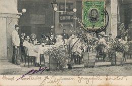 Guayaquil Comedor Del Gran Hotel Paris Filemon Froment Calles Elizalde Y Malecon - Ecuador