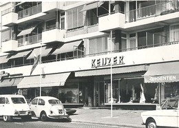 Rotterdam, Weissenbruchlaan , Modemagazijn Keijzer Promotie - Raclamekaart  (VW Kever)  ( 2 X Scan) - Rotterdam