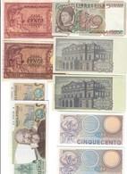 9 Banconote Repubblica Da Bb A Fds  LOTTO 2483 - Italia