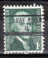 USA Precancel Vorausentwertung Preo, Locals Illinois, Leaf River 841 - Vereinigte Staaten