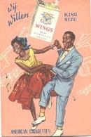 Wings, American Cigarettes (sigaretten Tabak ) - Reclame