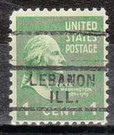 USA Precancel Vorausentwertung Preo, Locals Illinois, Lebanon 729 - Vereinigte Staaten