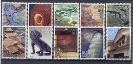 Japan - World Heritage Series N°4 2008 - Used Stamps