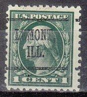USA Precancel Vorausentwertung Preo, Locals Illinois, Lemont 219, Perf. 11x11 - Vereinigte Staaten