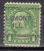 USA Precancel Vorausentwertung Preo, Locals Illinois, Lemont 632-243 - Vereinigte Staaten