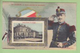 NANCY : Je Vous Envoie Ce Souvenir. Caserne Molitor, 79e De Ligne. TBE. 2 Scans. Edition Imprimeries Réunies - Nancy