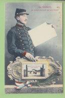 NANCY : Je Vous Envoie Ce Souvenir. Caserne Du 8e D'Artillerie Côté Gauche. 2 Scans. Edition Imprimeries Réunies - Nancy