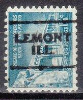 USA Precancel Vorausentwertung Preo, Locals Illinois, Lemont 701 - Vereinigte Staaten