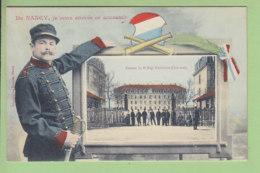 NANCY : Je Vous Envoie Ce Souvenir. Caserne 8e Régiment D'Artillerie. TBE. 2 Scans. Edition Imprimeries Réunies - Nancy