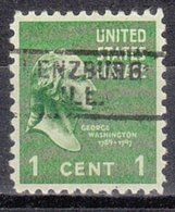 USA Precancel Vorausentwertung Preo, Locals Illinois, Lenzburg 729 - Vereinigte Staaten