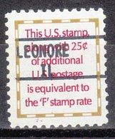 USA Precancel Vorausentwertung Preo, Locals Illinois, Leonore 895 - Vereinigte Staaten
