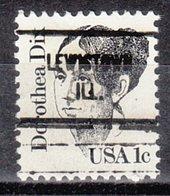 USA Precancel Vorausentwertung Preo, Locals Illinois, Lewiston 713 - Vereinigte Staaten