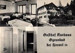 CPSM - HINWIL - Gasthof Und Kurhaus Gyrenbad  ... - ZH Zurich