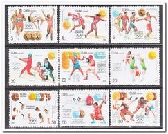 Cuba 1992, Postfris MNH, Olympic Summer Games - Ongebruikt