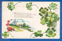 Blumen; Fleurs; Art Nouveau; Prägekarte; Gaufrée; 1921 Stempel Altona Elbe - Blumen