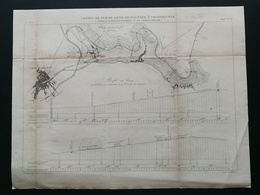 ANNALES DES PONTS Et CHAUSSEES (Dep 39) - Chemin De Fer De Lons-le-Saunier à Champagnole - Macquet -1893 (CLE87) - Travaux Publics