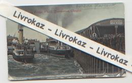 Ecosse Port De Glasgow Steamers Leaving Bridge Wharf, Broomielaw, Cachets Des Postes Militaires Belges Et De Glasgow - Lanarkshire / Glasgow