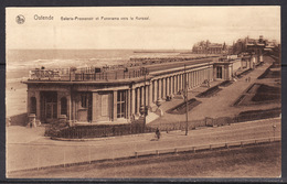 Ostende  Galerie Promenoir Et Panorama Vers Le Kursaal - Oostende
