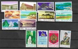 SANTA LUCIA  Nº 259 AL 272 - St.Lucia (1979-...)