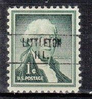 USA Precancel Vorausentwertung Preo, Locals Illinois, Littleton 748 - Vereinigte Staaten