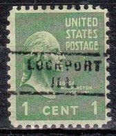 USA Precancel Vorausentwertung Preo, Locals Illinois, Lockport 743 - Etats-Unis