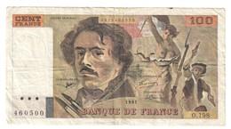 France 100 Francs 1991 - 1962-1997 ''Francs''