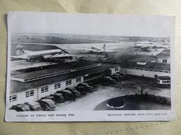 AEROPORT / FLUGHAFEN / AIRPORT      SHANNON RINEANNA IRLAND   DC 4 PAN AM / DC 4 TWA - Aerodromes