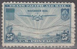 UNITED STATES       SCOTT NO. C20        USED        YEAR  1935 - Air Mail