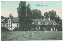 78 Gambais - Chateau De Neuville - La Chapelle Et La Régie - France