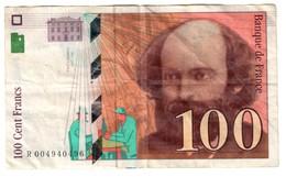 France 100 Francs 1997 - 1992-2000 Ultima Gama