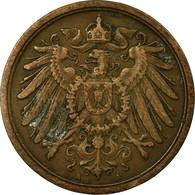 Monnaie, GERMANY - EMPIRE, Wilhelm II, 2 Pfennig, 1911, Berlin, TTB, Cuivre - [ 2] 1871-1918 : German Empire